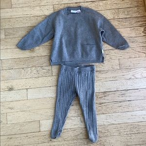 Zara baby matching set